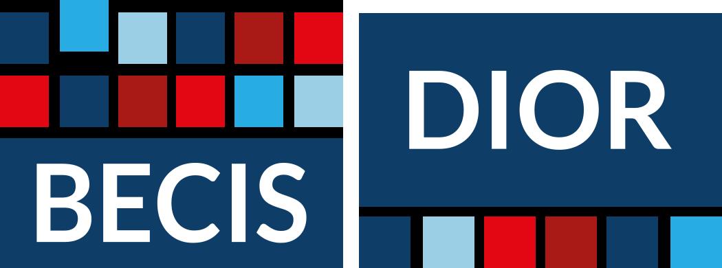 UPGRADE. Het kennismagazine van BECIS | DIOR logo